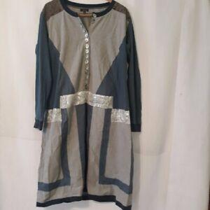 J. Peterman boho lagenlook dress Medium