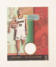 SUE BIRD 2002 Fleer WNBA Authentix Ripped SP Seattle Storm GAME-WORN JERSEY Card
