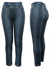 Stretch Jeans - Schlupfhose Damen Freizeithose mit Gummizug - Jeggings GR. 36-52