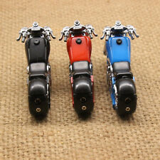 Cigarette Cigar Lighter Refillable LED Torch Jet Racing Motorcycle Shape Butane