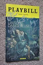 Dangerous Liaisons - Broadway Playbill - SIGNED Liev Schreiber & Cast