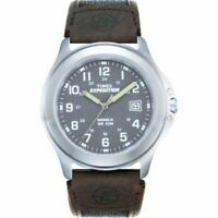 Timex Men's Expedition Metal Field Watch - Black/Brown/Charcoal