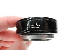Walz Series VI 6 Black Metal Camera Lens Hood w/ 40mm Canon Adapter