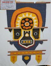 1970s Don Freedman ? Macramé Fiber Art Boho Mid Century Wall Hanging