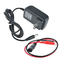 DC 6V Clip Power Charger for Peg Perego Tractor train Express hayride Motorcycle