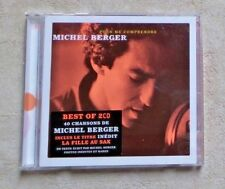 "CD AUDIO MUSIQUE  / MICHEL BERGER ""POUR ME COMPRENDRE"" 2 CD COMPILATION 2002 POP"