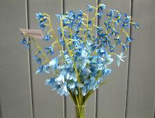 Artificial Bluebells - Bunch of 10 Silk Flowers - 37cm Tall