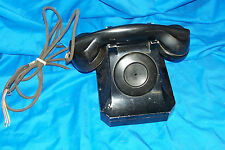 Vintage Stromberg Carlson Phone 1244W Old 1244 W Telephone Antique Hotel No Dial