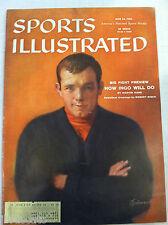 1959 INGEMAR JOHANSSON SWEDEN BOXER vs FLOYD PATTERSON Sports Illustrated