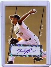 DAVID PRICE 2007 JUSTIFIABLE CERTIFIED AUTOGRAPHED ROOKIE CARD! CY YOUNG WINNER!