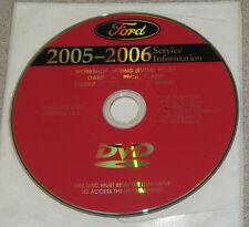 2005 Ford Super Duty F-250 F-350 F-450 F-550 Truck Service Manual Set DVD