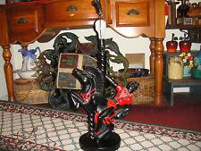 Reglor Of Calif Mid Century Modern Lamp-Spanish Design W/Man & Horse-Heavy Lamp