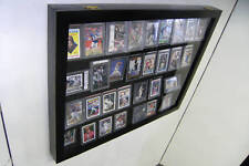 Graded Baseball Card display Case holds 36 PSA Beckett Horzt
