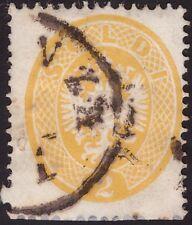 LOMBARDO VENETO 1863 - 2 s. n. 36 USATO SPL € 300