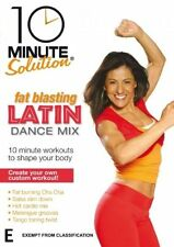 10 Minute Solution: Latin Dance Mix NEW R4 DVD