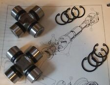(x2) AUSTIN A90 A95 A99 A105 A110 Westminster  UNIVERSAL JOINTS Joint (1954- 68)