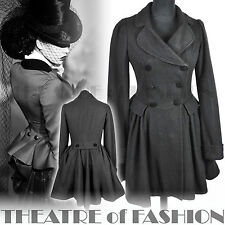 Topshop Riding Coat Vintage Vittoriano 40 S Guerra Sposa PADRONA 50 S Starlet Vamp