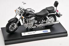 BLITZ VERSAND Honda F6C / F 6 C schwarz / black Welly Motorrad Modell 1:18 NEU