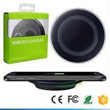 NEW BLACK QI Wireless Charger Rapid Charging Stand For Samsung Galaxy S6 S7 S8