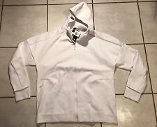 NWT ADIDAS ZNE F/Z  White Hoody Zip Up Jacket Men's 4XL
