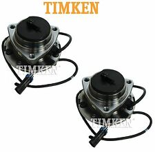 Chevy GMC Isuzu Oldsmobile Pair Set of Front Wheel Bearings Hubs Timken 513124