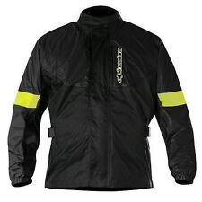 Blousons d'hiver noir ajustable pour motocyclette