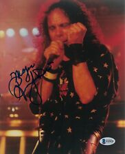 Ronnie James Dio Signed 8X10 Photo B Black Sabbath Rainbow Beckett Bas