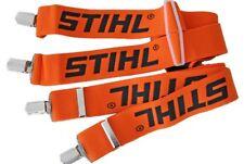 STIHL Chainsaw / Arborist Trouser Braces. Elasticised Easy Fast Clip Style 110cm
