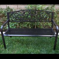 Outdoor Garden Bench Patio Furniture Deck Backyard Welcome Chair Love Seat NEW