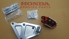 #2018 NEW GENUINE OEM #HONDA X-ADV ADV 750 #ADVENTURE FOOT PEGS INCLUDES BRACKET