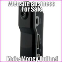 SPY CAMERAS Website Earn $40.04 A SALE FREE Domain FREE Hosting FREE Traffic