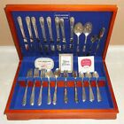 Service for 8 - HOLMES & EDWARDS SILVERPLATE. Set of 51pcs SILVERWARE / FLATWARE