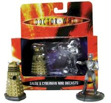 Doctor Who Dalek and Cyberman Mini Diecast 2 Pack 2 inches tall
