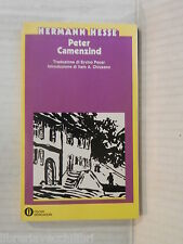 PETER CAMENZIND Hermann Hesse Ervino Pocar I A Chiusano Mondadori 1980 romanzo