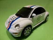 IXO VW VOLKSWAGEN NEW BEETLE - HERBIE No 53 - WHITE 1:43 - EXCELLENT