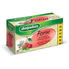 Dogadan Prem.Form Mixed Herbal Tea with Cherry Stalks(5boxes/100teabags)UKSeller