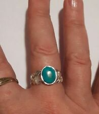 Unbranded Turquoise Natural Fine Rings