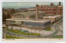 PUBLIC BATHS, WIGAN: Lancashire postcard (C52028)