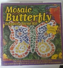 Mosaic Stepping Stone Kit Butterfly 601950112760