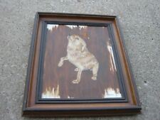 1979 Vintage Original DOG Oil Painting Ray Parshall