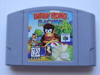 Diddy Kong Racing Nintendo 64 N64 Authentic Video Game Cart OEM Retro Kids GOOD