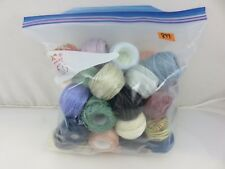DMC Skein Balls Floss Thread Embroidery Yarn 50pc Lot #899 Assorted Colors