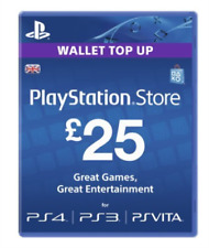 Sony PlayStation Network Card - £25
