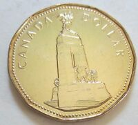 1994 Canada War Memorial One Dollar Coin. (UNC. Loonie).