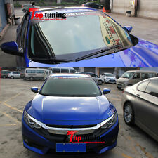 RS TURBO Front Window Windshield Vinyl Banner Decal Sticker for Honda Civic 2016