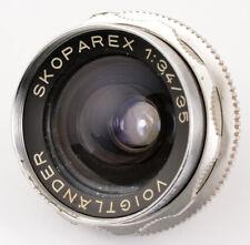 Voigtländer SKOPAREX 1:3,4/35 No.5572026 Lens made in West Germany NOT WORKING
