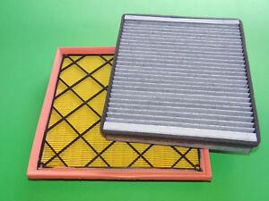 Luftfilter + Aktivkohle Pollenfilter Chevrolet Orlando 1.4 Benziner & 2.0 Diesel