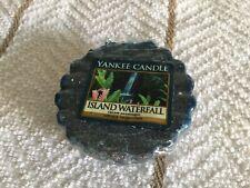 Yankee Candle ISLAND WATERFALL Scented Wax Tart / Melt.