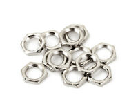 (12) Genuine Fender CTS Pot/Potentiometer Mounting Guitar Hex Nut, Nickel