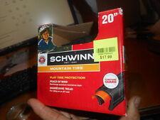 """***** Schwinn Tire Bicycle Bike Mountain 20"""" x NEW SW75852-2 038675585201"""